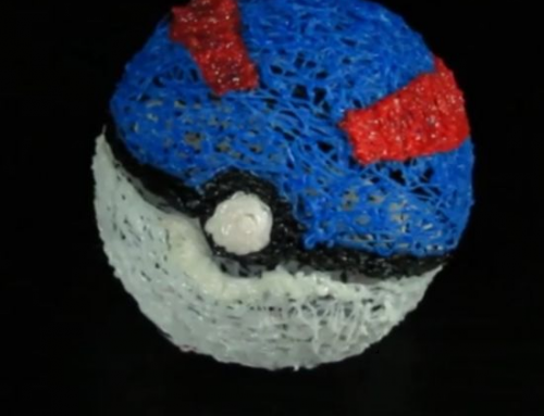 POKEBALL HECHA CON 3D PEN